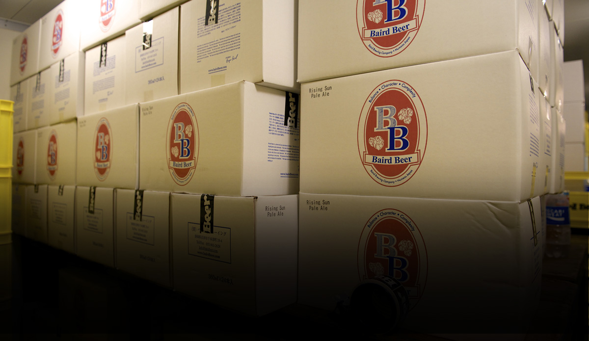 Baird Beer to the USA